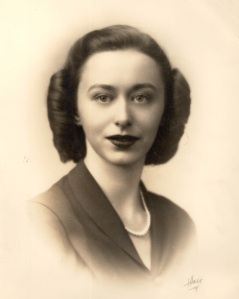 Betty as a young woman